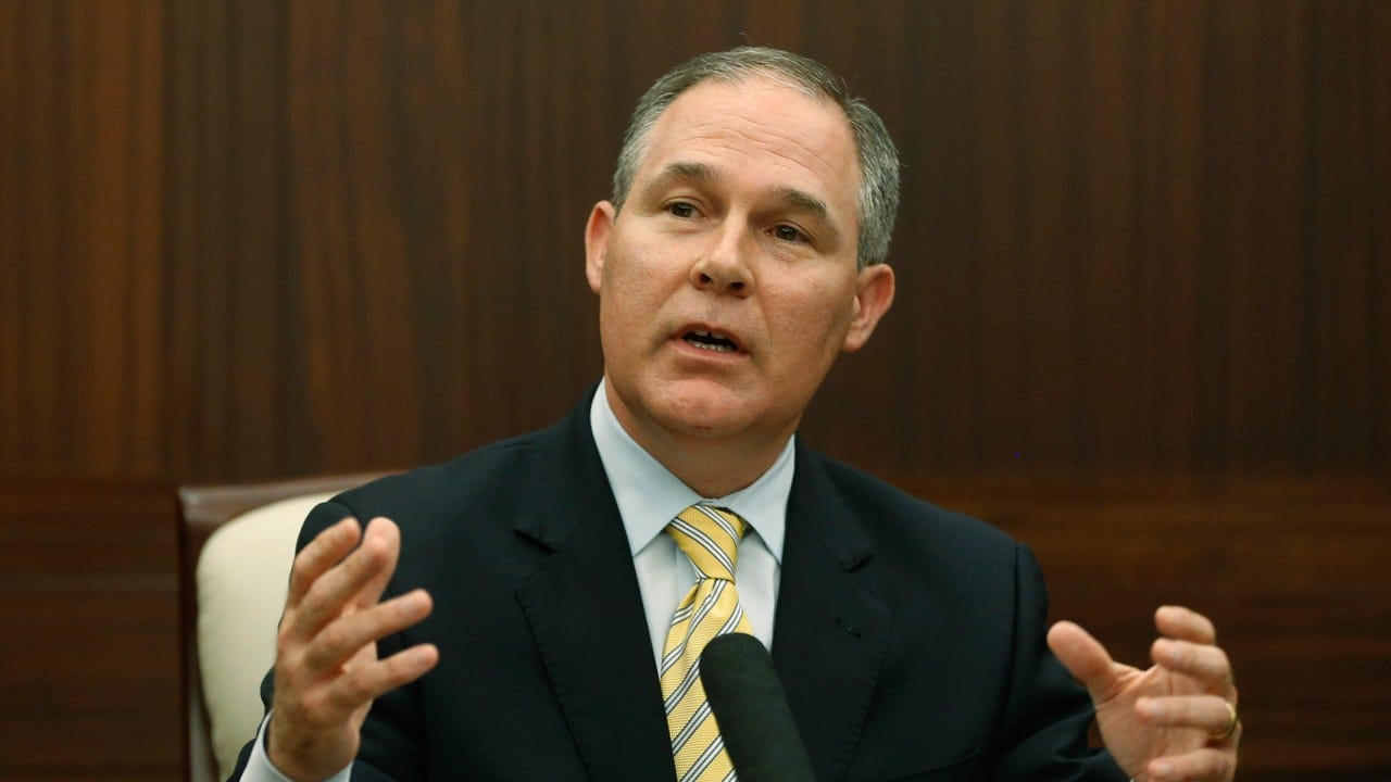 EPA Administrator Scott Pruitt Resigns