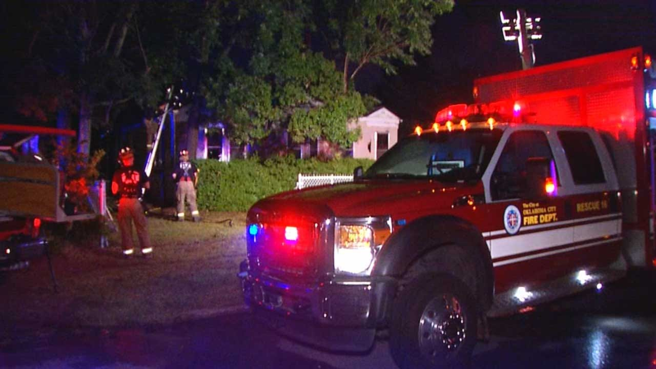 Electrical Issue Blamed For Fire That Destroyed SW OKC Home