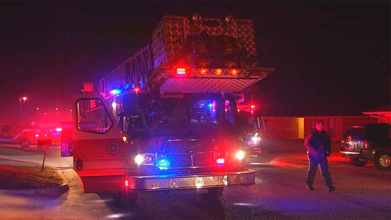 Officials Battle House Fire In NW OKC