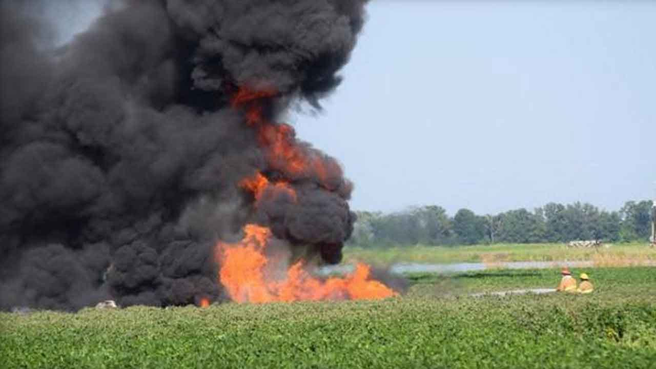 At Least 16 Killed During Military Plane Crash In Mississippi