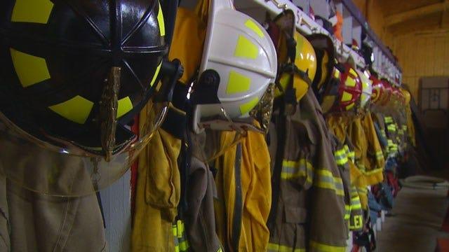 Crews Battle Apartment Fire In Yukon