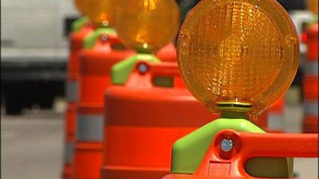 Hazmat Responding To Diesel Fuel Spill On WB I-44 In OKC