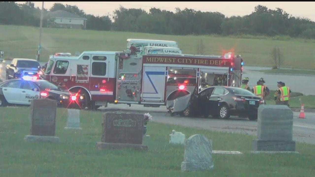 Injury Reported After Multi-Vehicle Crash In Spencer