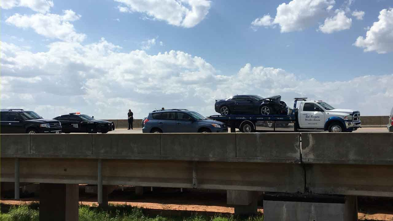 OHP Trooper Involved In Crash On EB I-44 In NW OKC