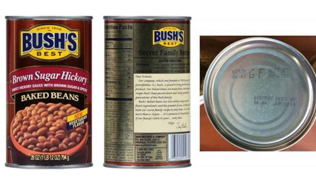 Bush's Beans Recalled Due To Potentially Defective Cans