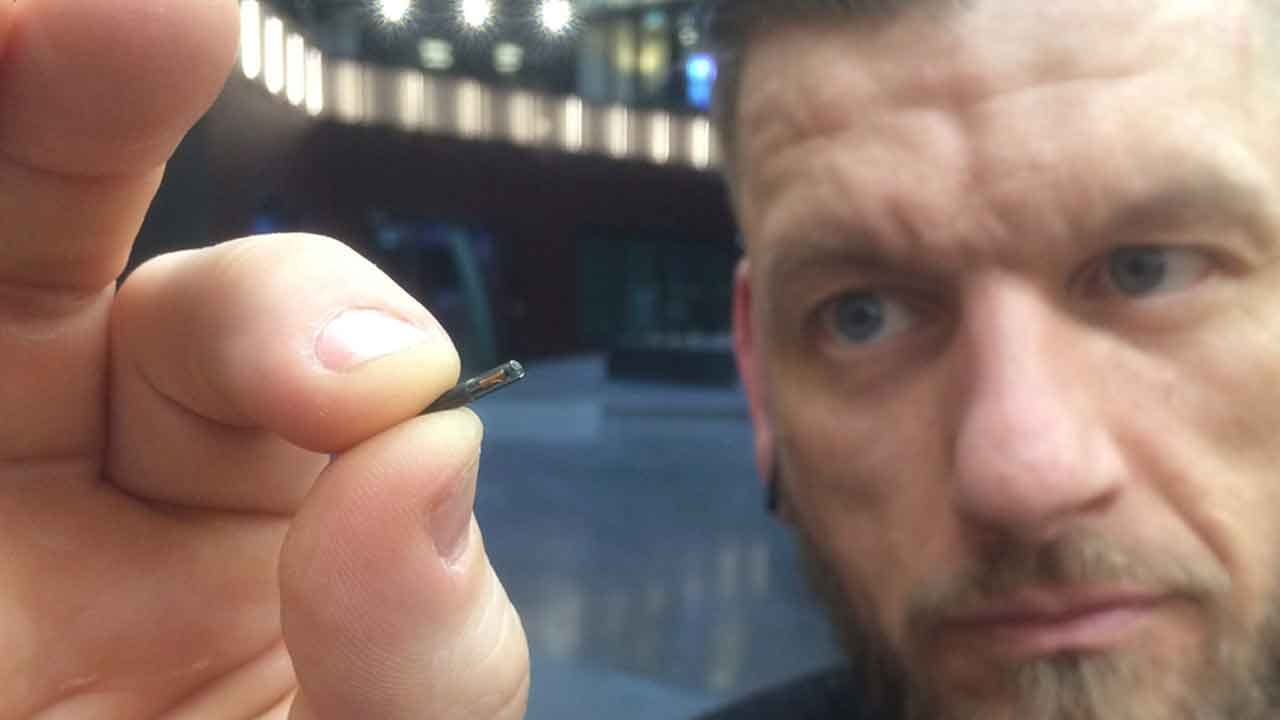 First U.S. Company To Microchip Employees