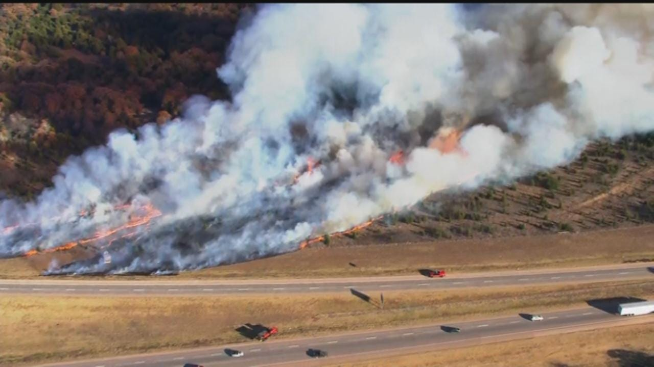 Grass Fires Increase With Sustained High Temps