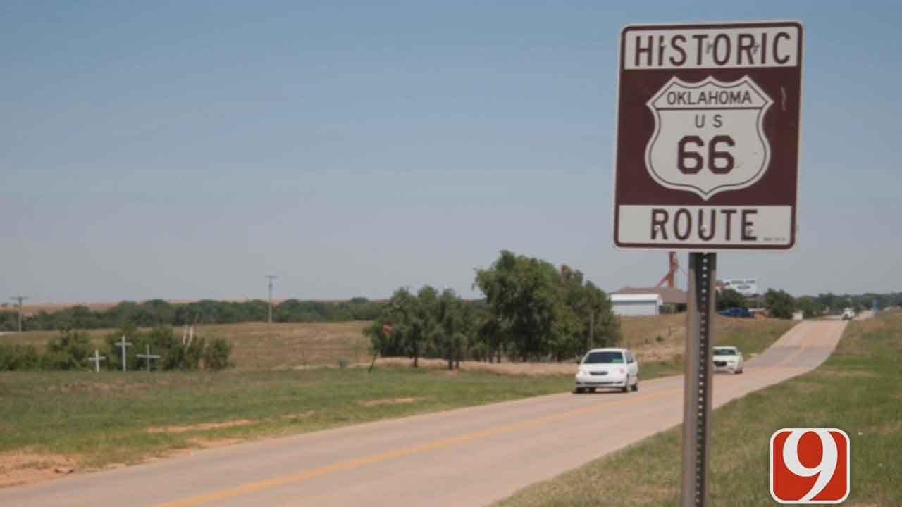 U.S. Route 66 Repairs Begin In Central Oklahoma