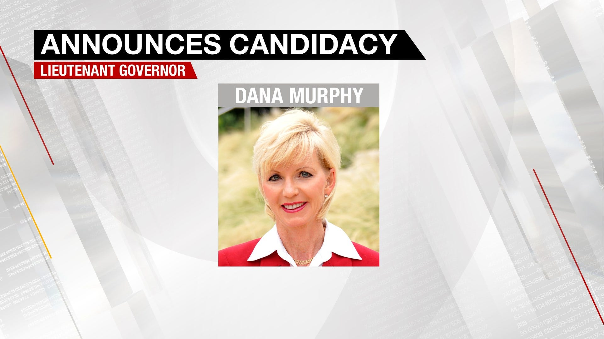 Dana Murphy Announces Candidacy For Lt. Governor