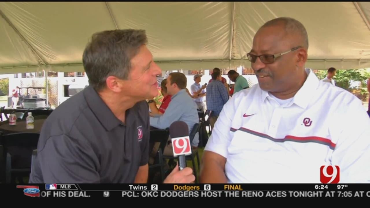 Dean Chats With New OU Assistant Ruffin McNeill