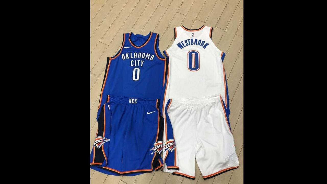New Technology Helps Nike Build Thunder Uniforms