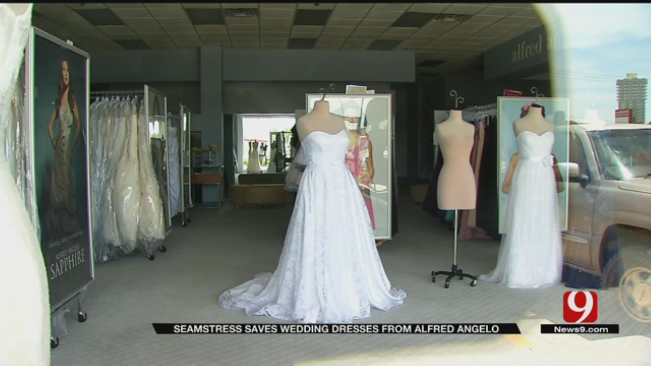 Oklahoma Seamstress Saves Alfred Angelo Bridal Gowns Before Store Closes
