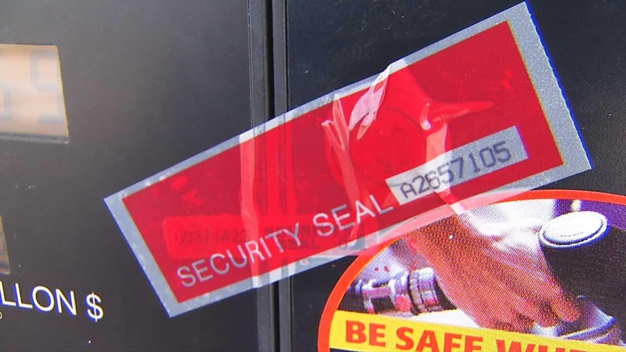 Credit Card Skimmers Found At Edmond Gas Station Pumps