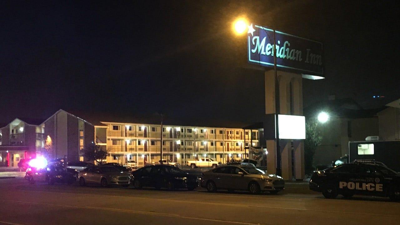 Man Barricades Himself Inside Hotel Room In S. OKC