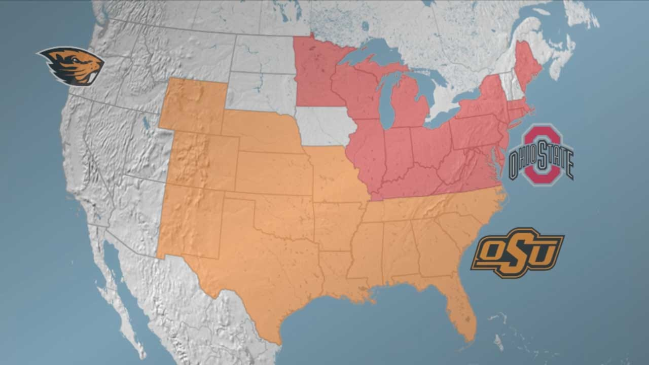 Oklahoma State, Ohio State Battle For Trademark Use