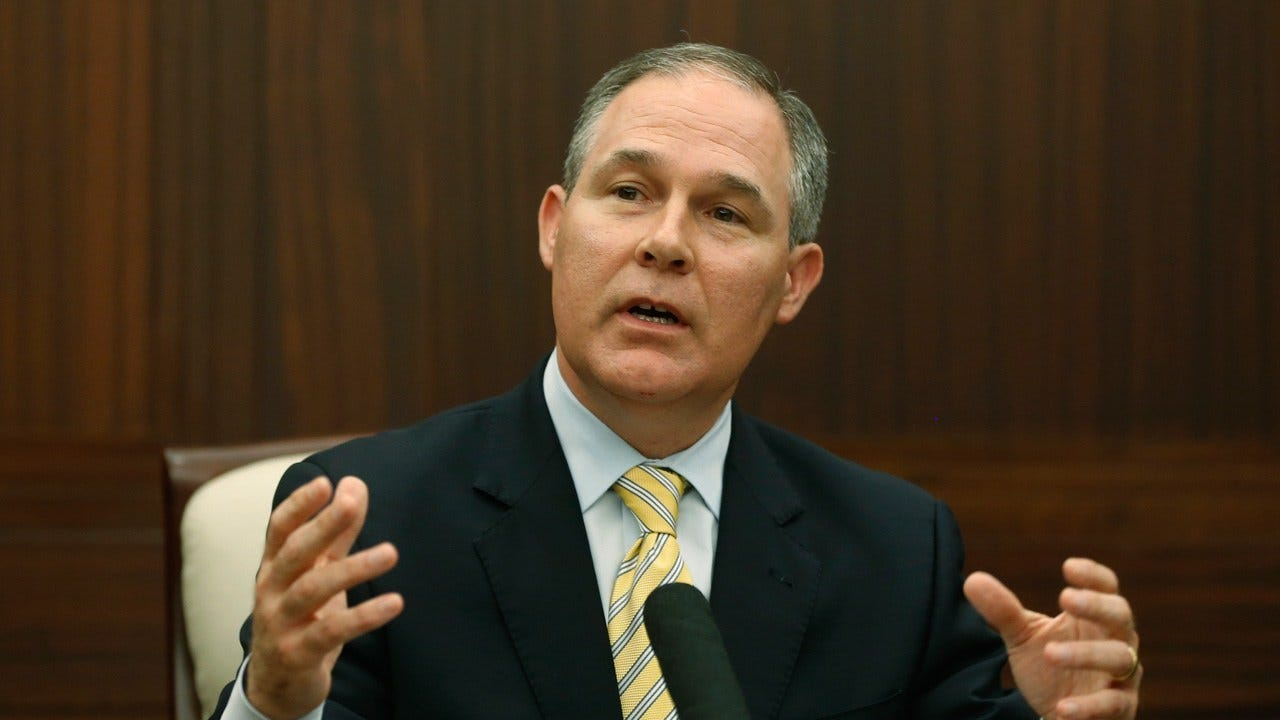 Pruitt Plans Roll Back Of 30+ Environmental Regulations In Record Time