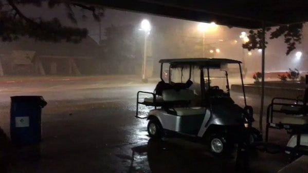 Torrential Rains, Lightning Force Cancellation Of Independence Celebration