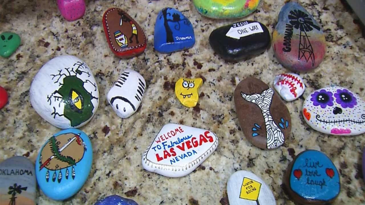 'Kindness Rocks' Scattered Across Oklahoma