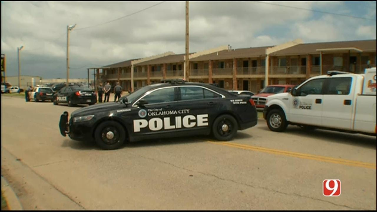One Injured, Suspect At Large After Shooting At West OKC Motel