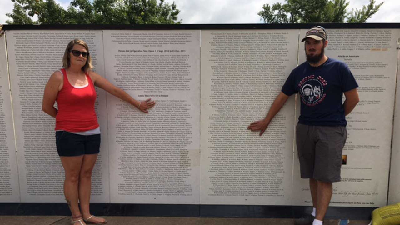 Wall Of Remembrance Pays Tribute To Fallen Heroes