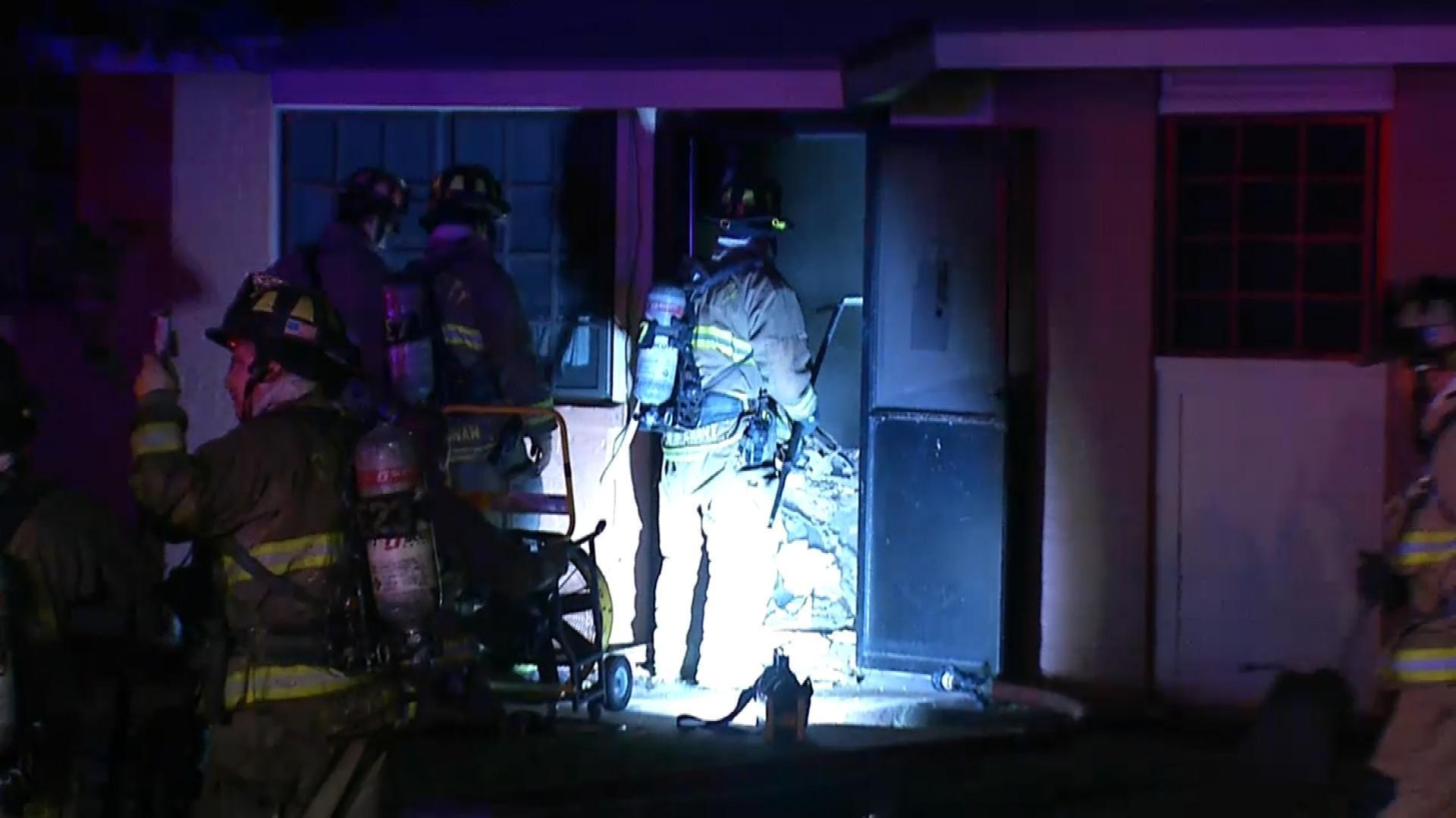 Crews Respond To Apartment Fire In SE OKC