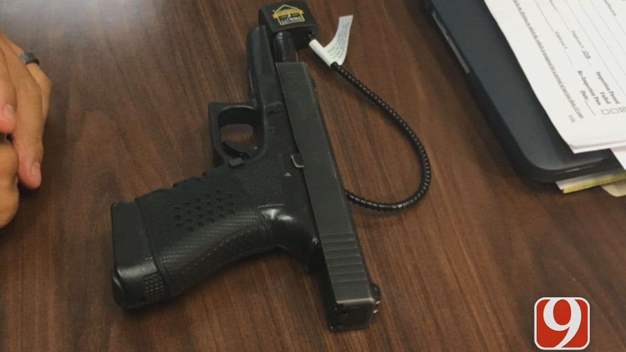 OKC Police Offer Free Gun Locks For National Safety Month