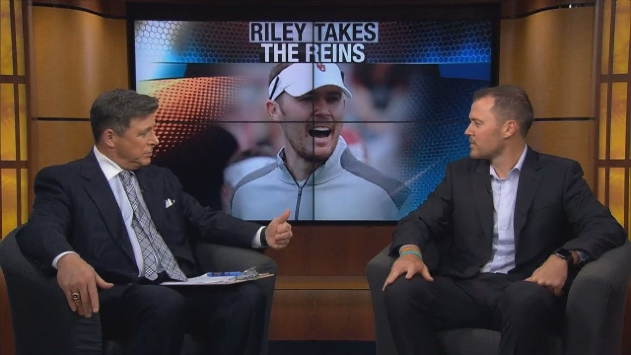 OU Head Football Coach Lincoln Riley Sits Down One-On-One With Dean Blevins