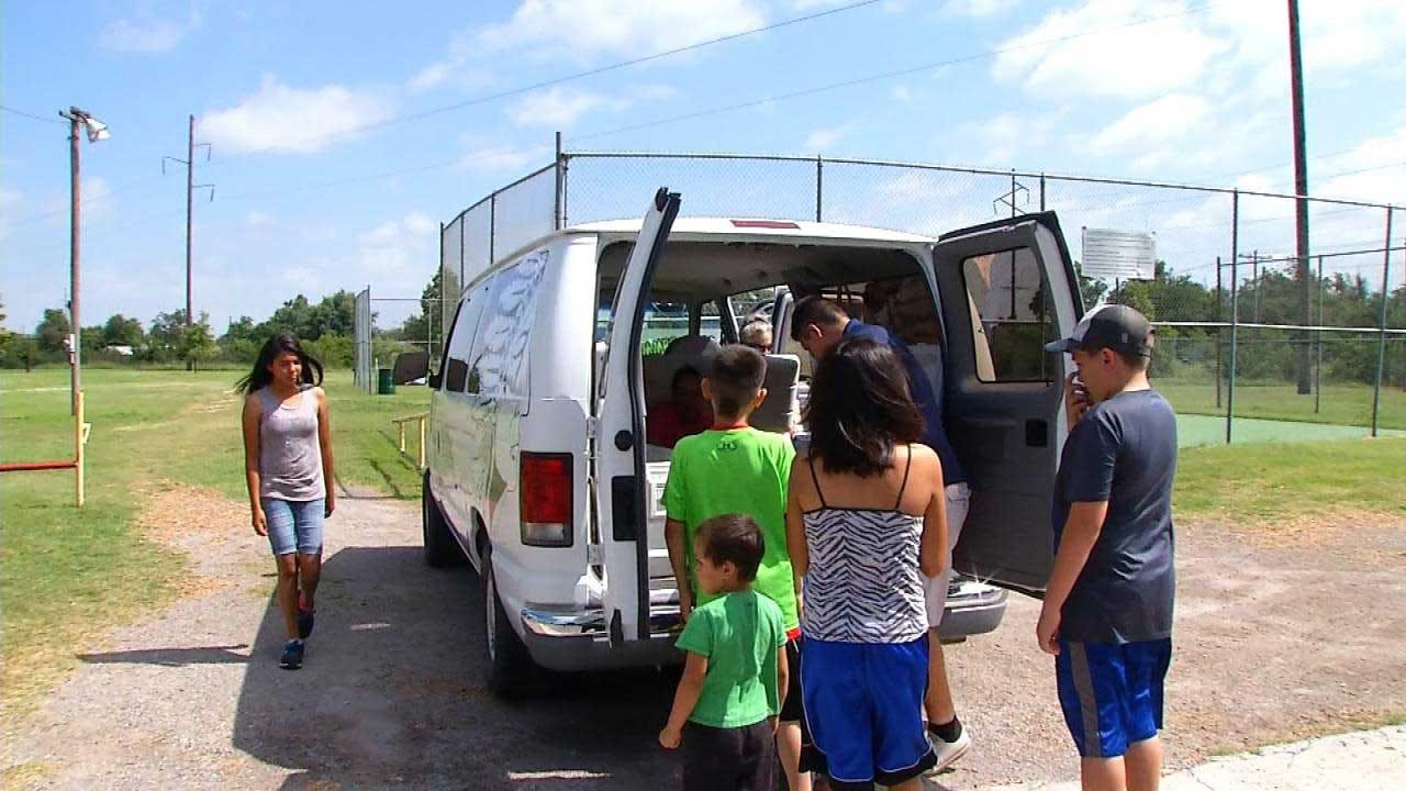 El Reno Food Truck Makes Sure Kids Don't Go Hungry