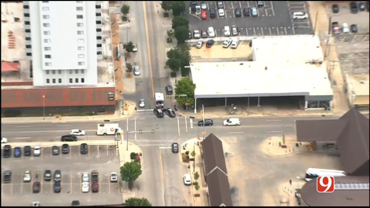 Fight Leads To Stabbing In Downtown OKC, Suspect In Custody