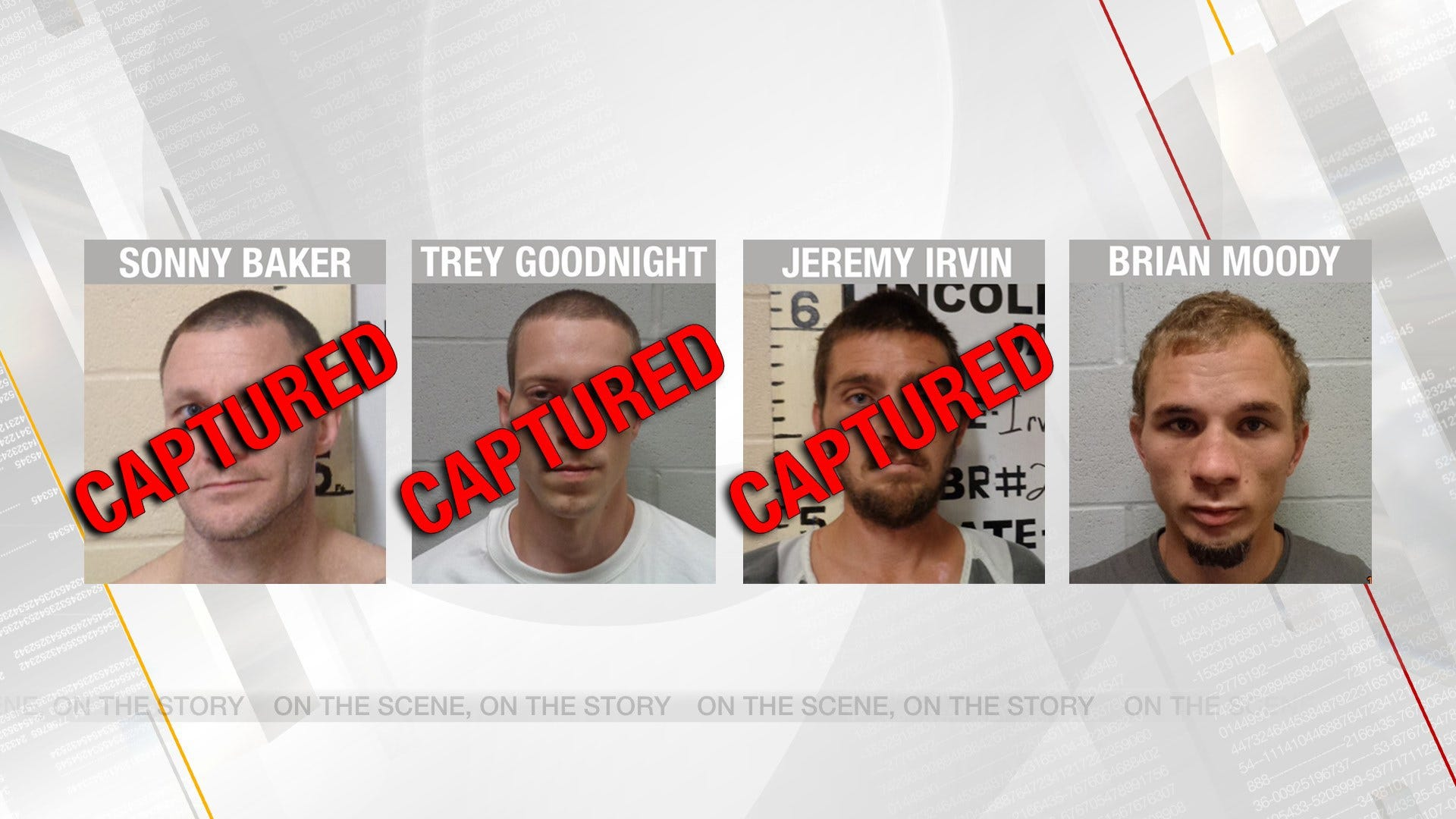 Three Lincoln County Escapees In Custody, Fourth Remains At Large