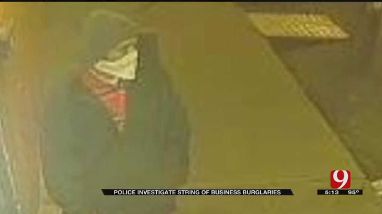 Burglar Targets OKC Businesses Along NW 23rd