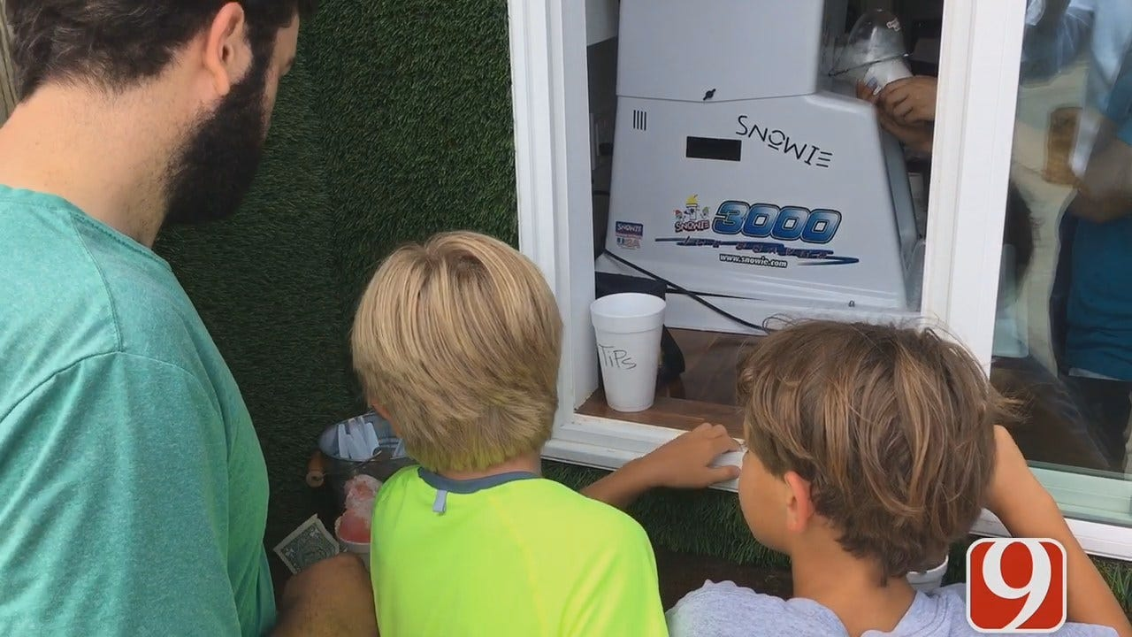 Snow Cone Stand Offers Employees More Than A Paycheck