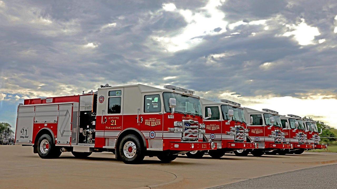 New Fire Engine Fleet Hits Streets Of OKC