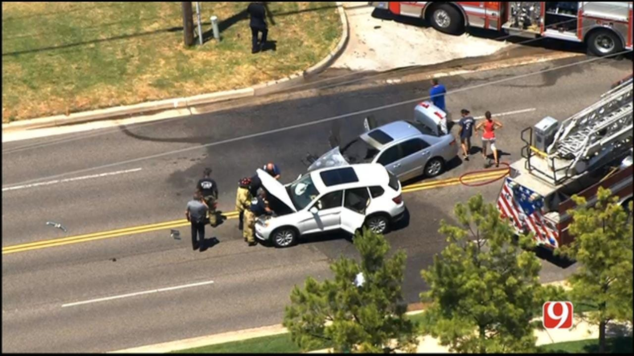 Traffic Being Diverted After Injury Crash Reported In SW OKC