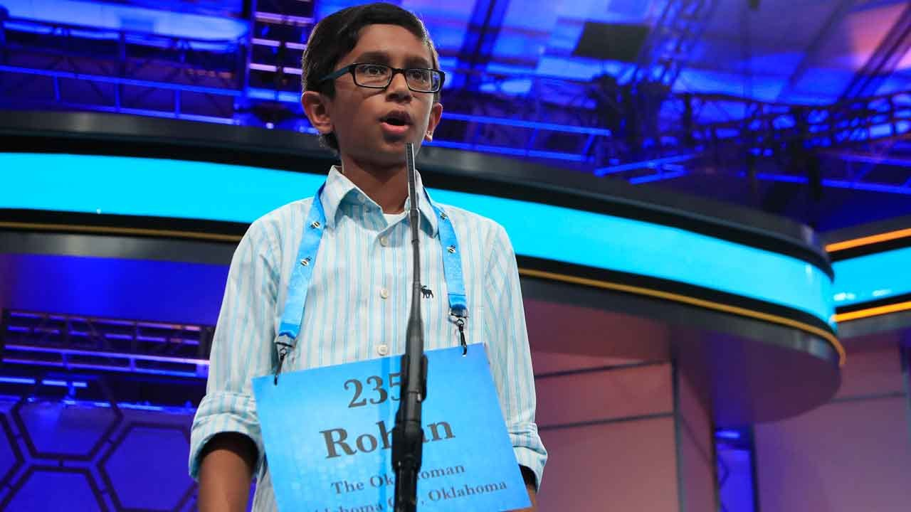 Edmond Native Rohan Rajeev Places 2nd In Scripps National Spelling Bee