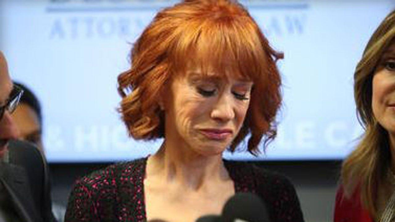 Kathy Griffin Breaks Down Into Tears: Trump 'Broke Me'