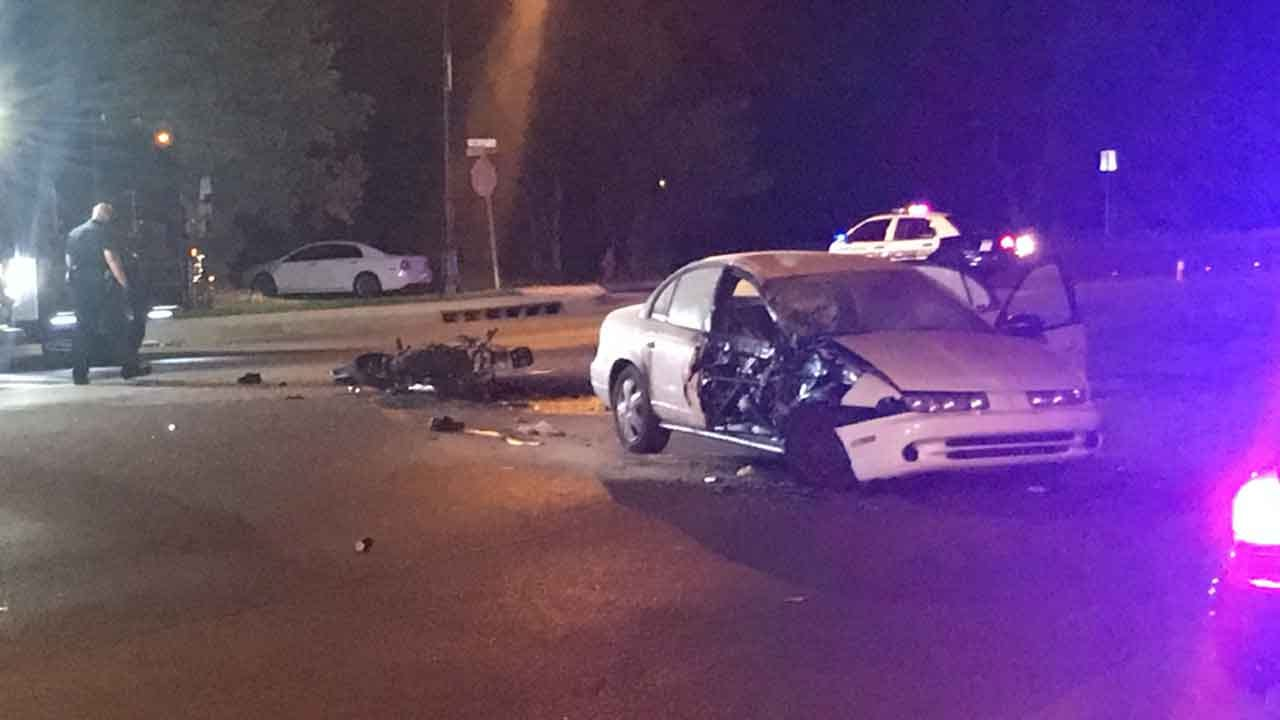 Warr Acres Police Respond To Fatal Motorcycle Collision