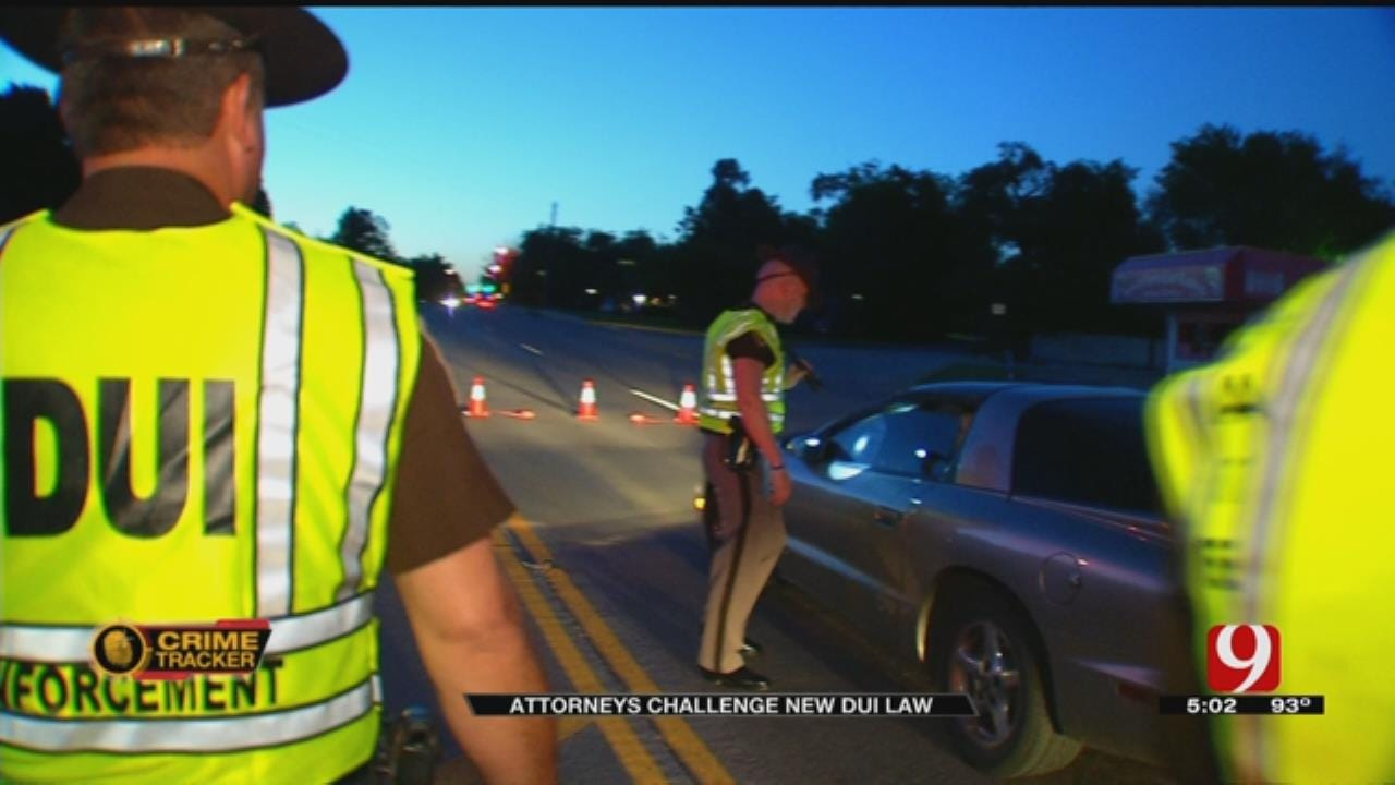 Group Of Oklahoma Attorneys Challenges New DUI Law