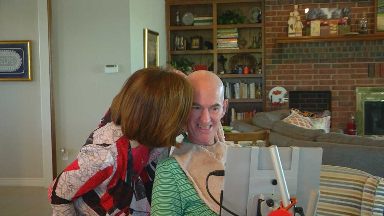 Chickasha ALS Patient Gets His Voice Back Through VisuALS