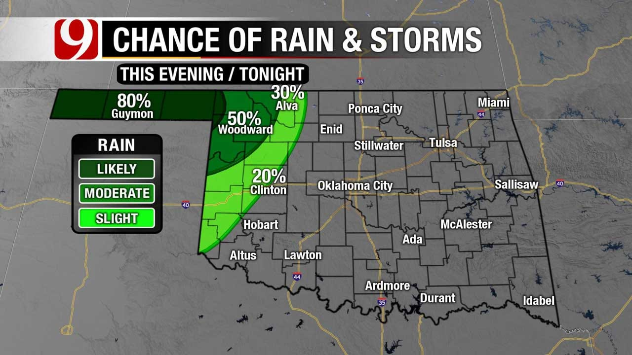 Quiet Evening Expected Across The State Thursday