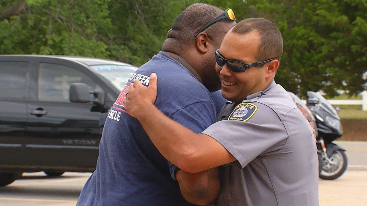 Crash Victim Inspired By OCPD Officer To Become Public Servant