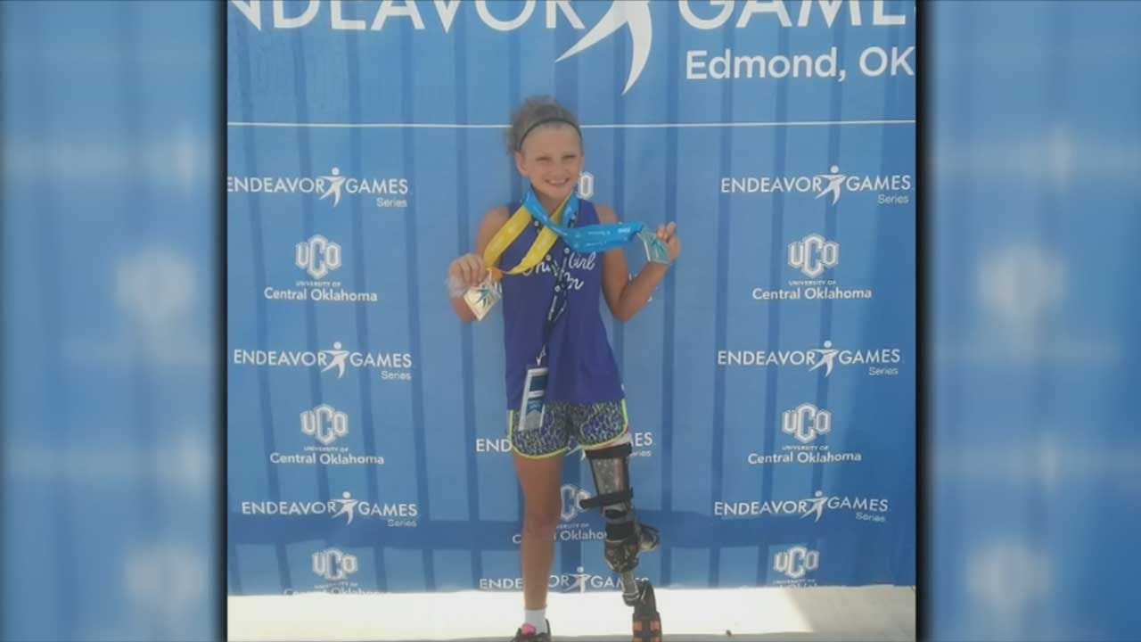 Red Dirt Diaries: Young Adaptive Athlete Inspires After Rare Surgery