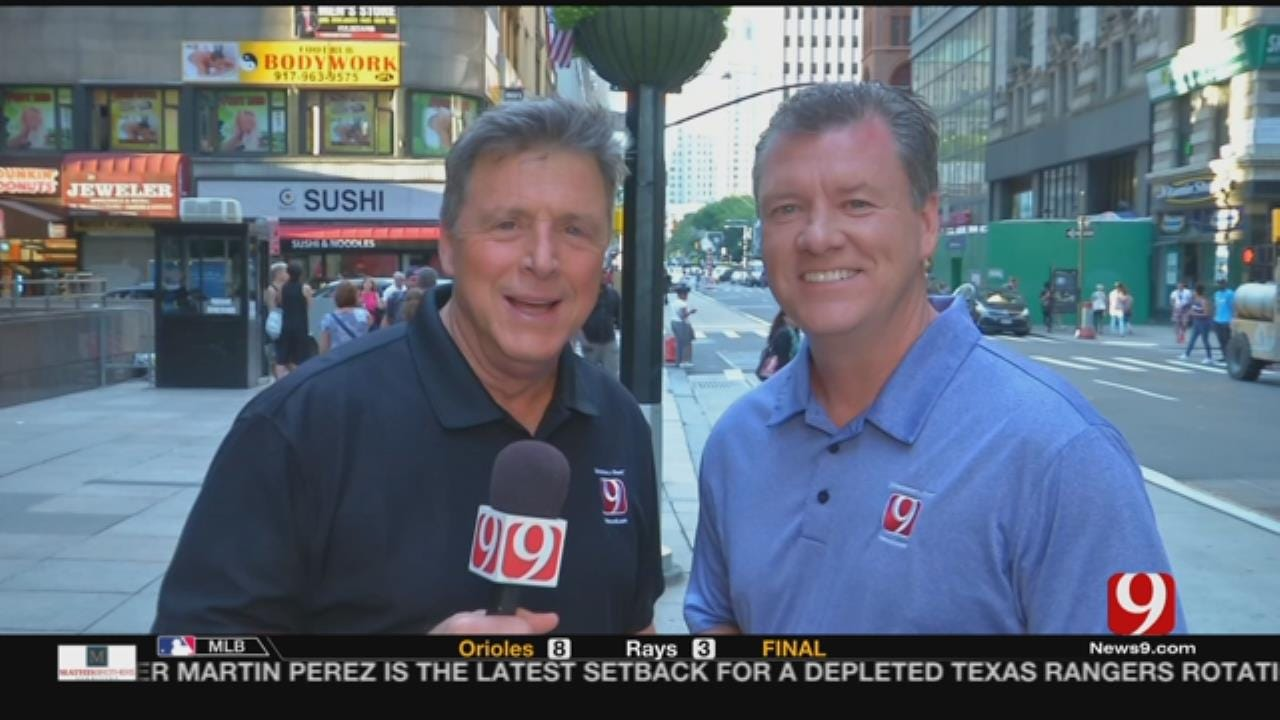 News 9 Sports In NYC To Cover NBA Awards