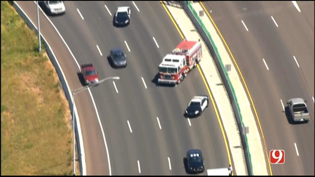 Motorcycle Crash On I-40 In MWC Prompts Lane Closures