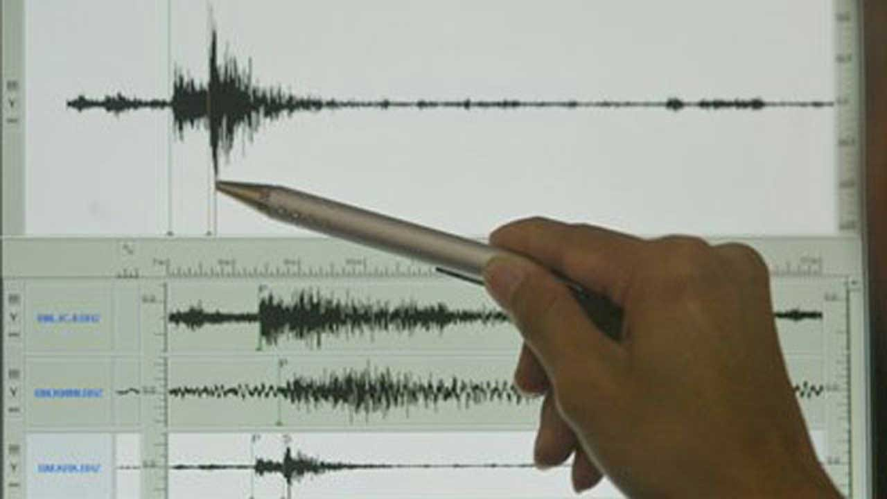 3.3 Magnitude Earthquake Reported In Woods County