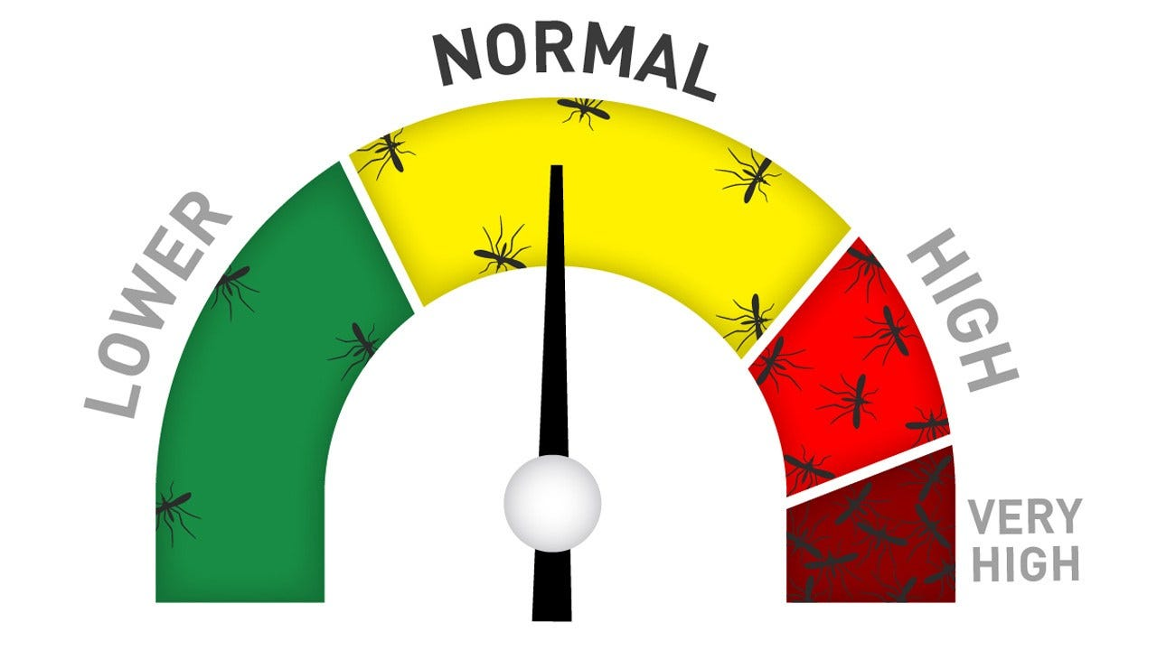 """New """"Skeeter Meter"""" Tracking Illness Risks From Mosquitoes"""