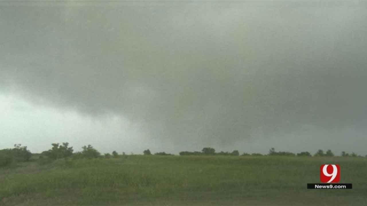 Tornado Briefly Touches Down Near Verden