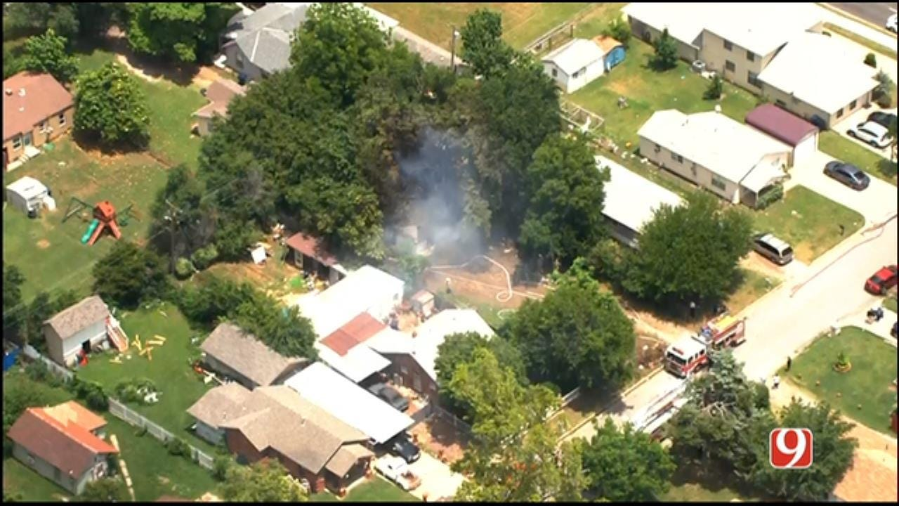 Crews Extinguish House Fire In SW OKC