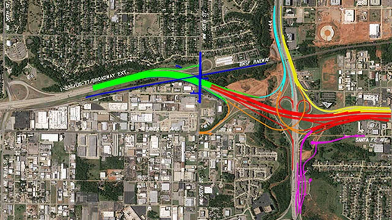 I-235 Construction Project Alternate Routes