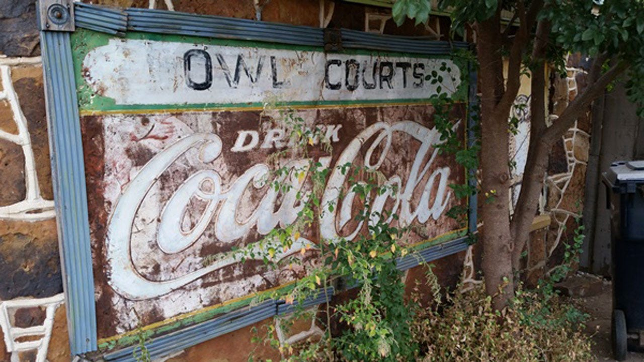 Unique Sign Stolen From Historic OKC Property